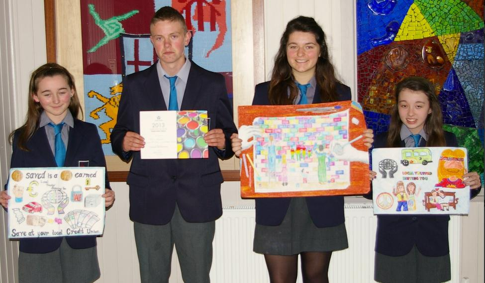 Credit Union of Ireland Art Competition success for Heywood Community School