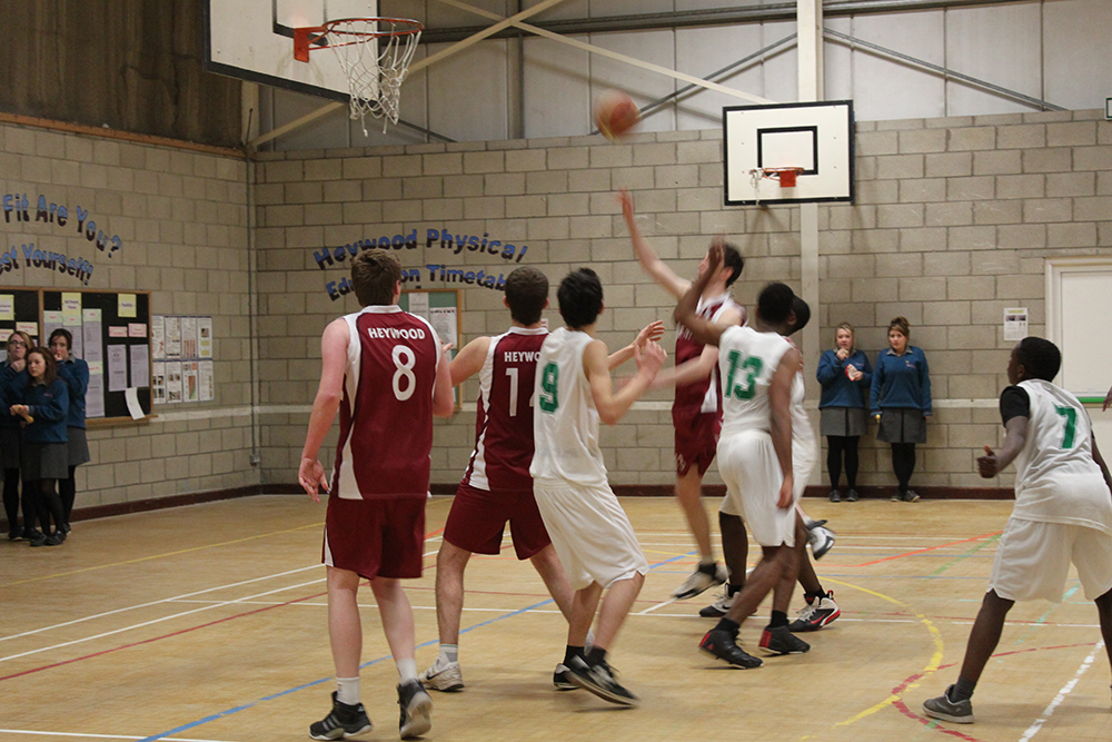 Basketball-Heywood-Community-School