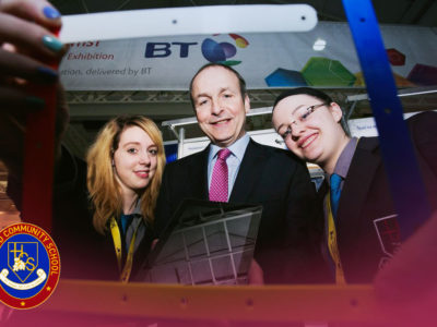 Success at the BT Young Scientist Exhibition 2014