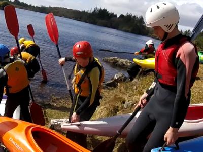 Canoeing12Cashel 2016