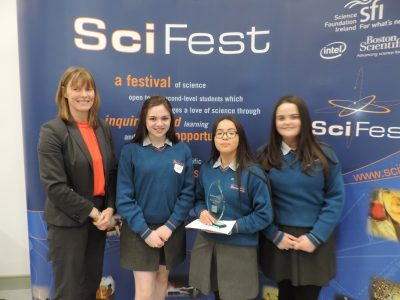 Success at Scifest@college 2018